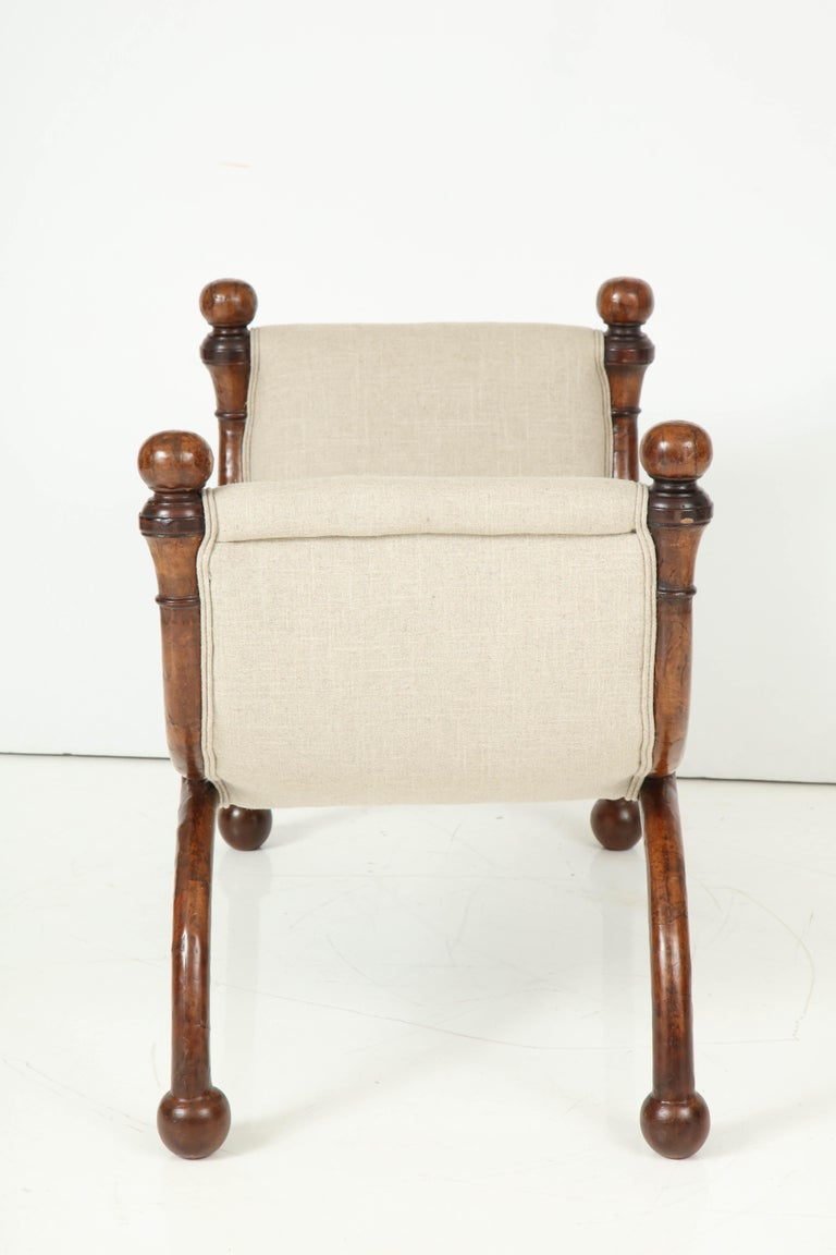 Pair of Biedermeier Benches For Sale 8