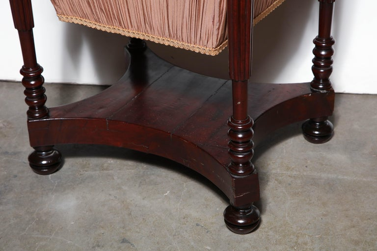 Federal Mahogany Worktable For Sale 6