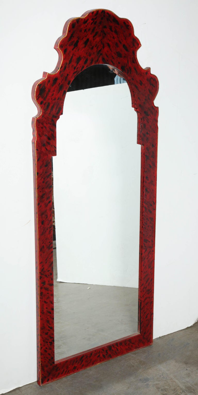 Pair of Queen Anne Style Mirrors For Sale 1