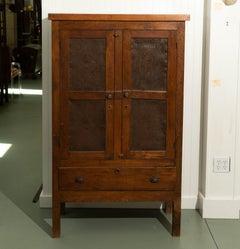 19th Century Oak Pie Safe