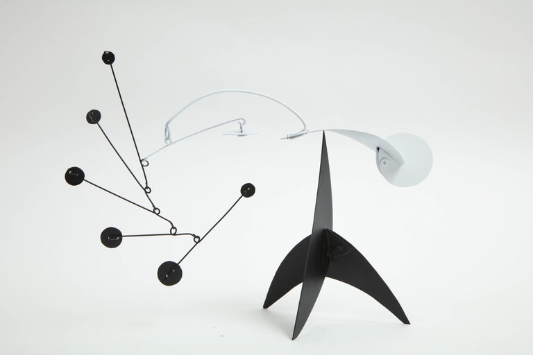 Painted Collection of Jim Hunter Tabletop Mobiles, 2018 For Sale