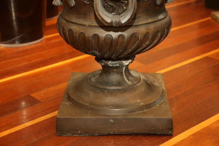 Pr/Bronze Urns with Mythological Representation from Chinese Collector For Sale 2