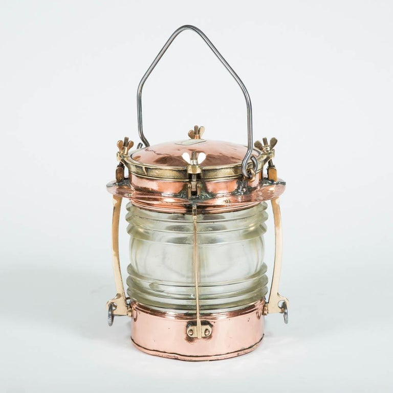 Ship's Lights by Telford, Grier, Mackay & Co of Glasgow In Good Condition For Sale In London, GB