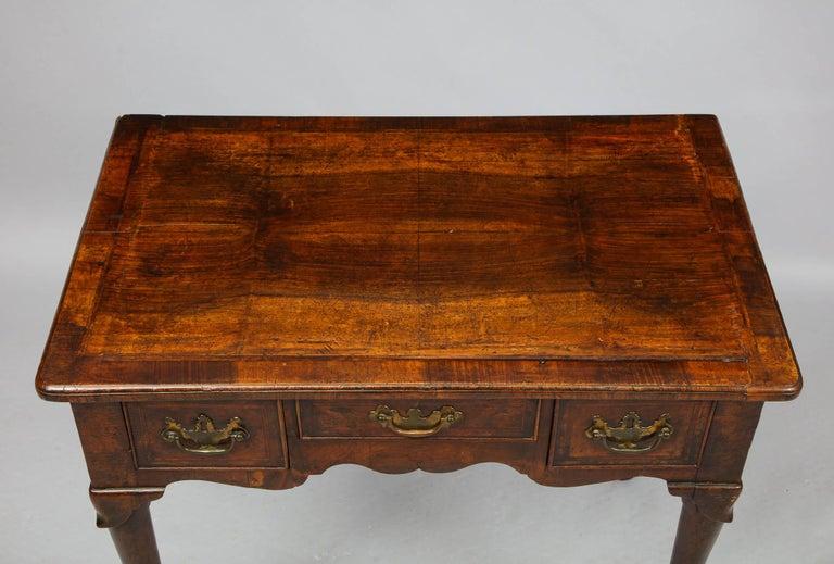 Queen Anne Walnut Lowboy For Sale 8