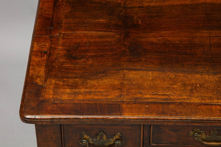 Queen Anne Walnut Lowboy For Sale 9