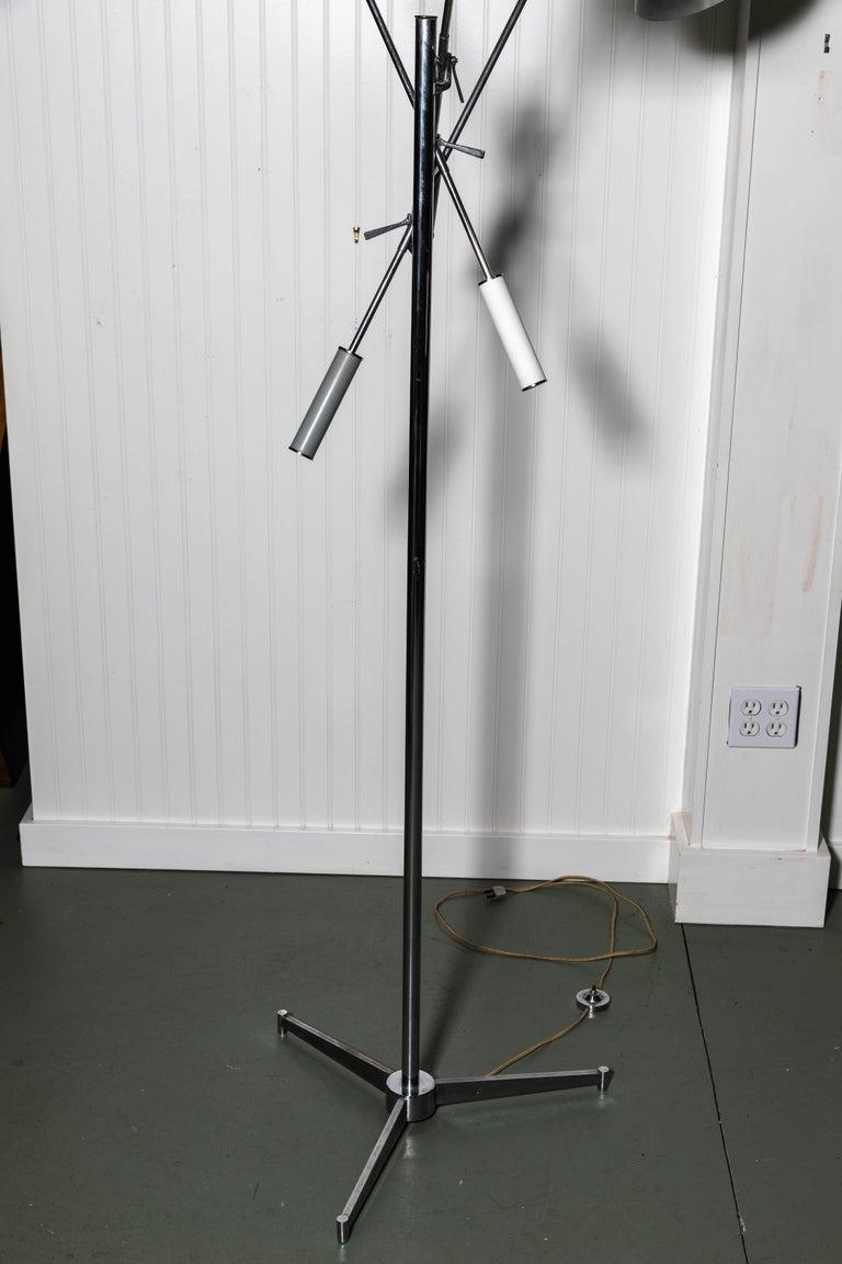 Mid-Century Modern Arredoluce Monza Triennale Floor Lamp For Sale