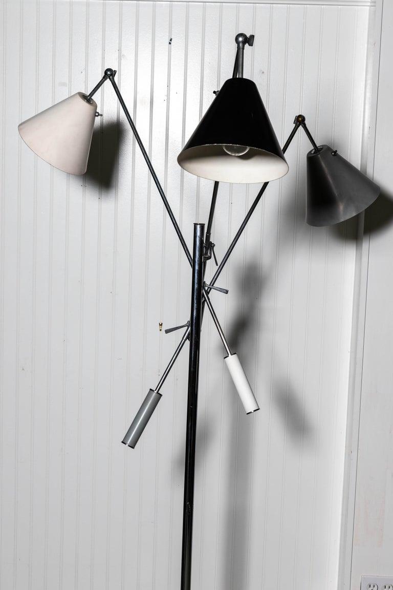 Italian Arredoluce Monza Triennale Floor Lamp For Sale