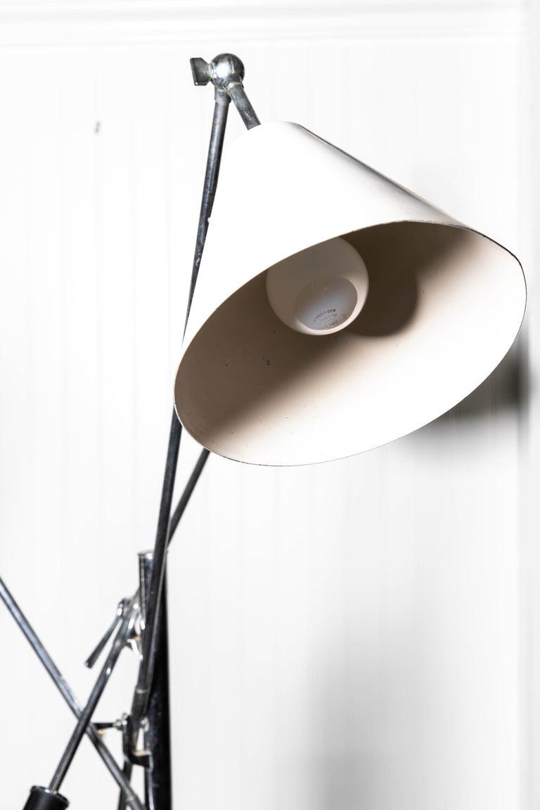 20th Century Arredoluce Monza Triennale Floor Lamp For Sale