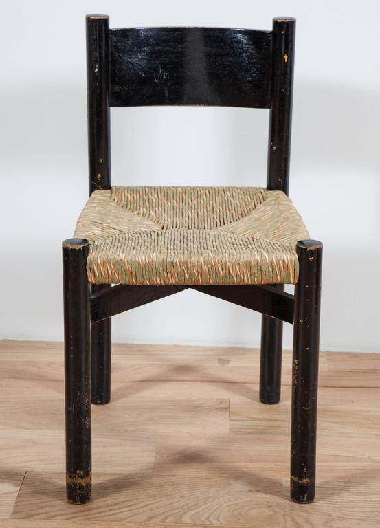 Charlotte Perriand, Rush Seated Chair 2