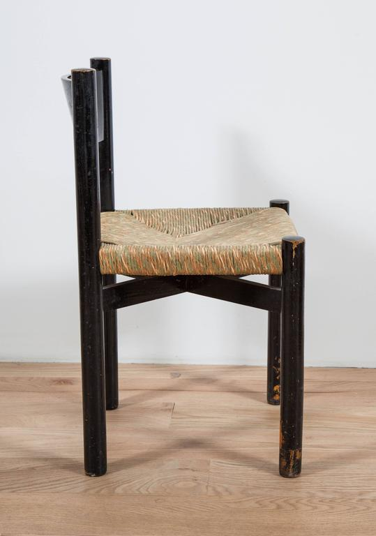 Charlotte Perriand, Rush Seated Chair 6