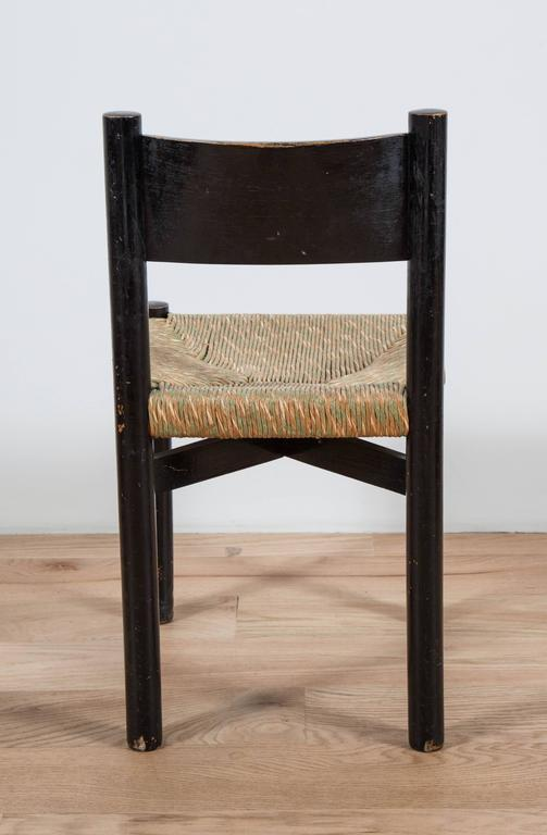 Charlotte Perriand, Rush Seated Chair For Sale 1