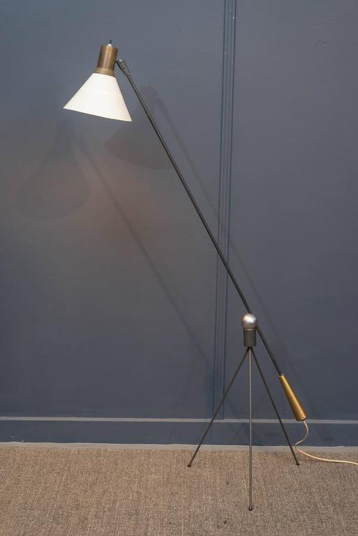 Gilbert Watrous Moma Floor Lamp At 1stdibs