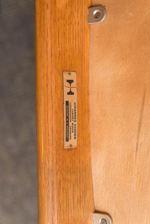 Hans J Wegner Lounge Chair For Sale 1