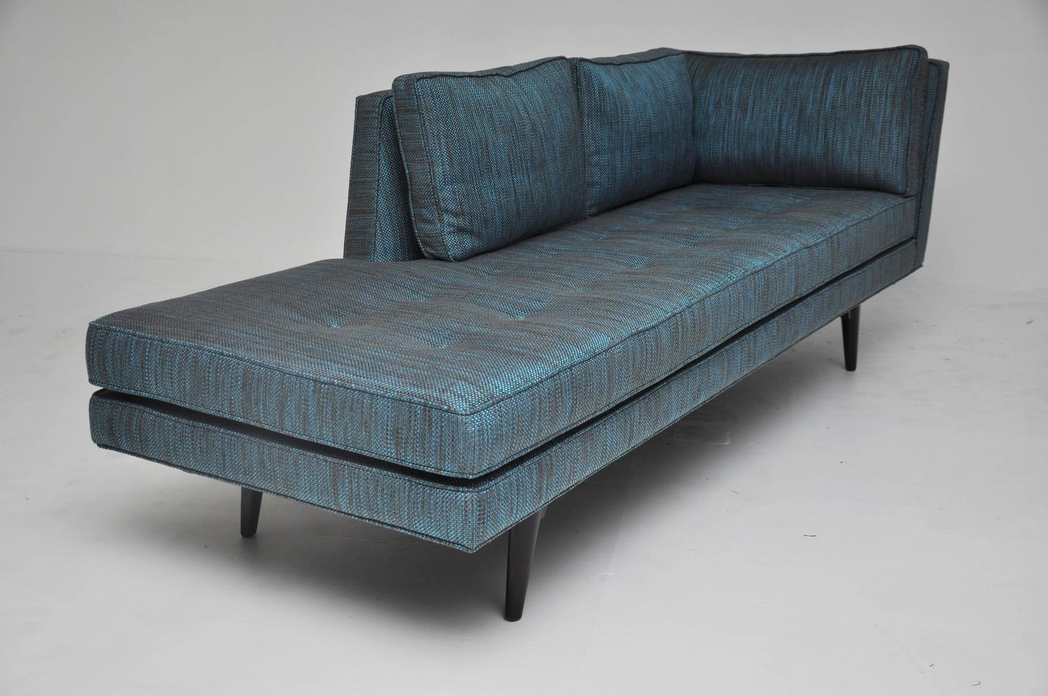 Dunbar chaise lounge by edward wormley at 1stdibs for Chaise lounge chicago