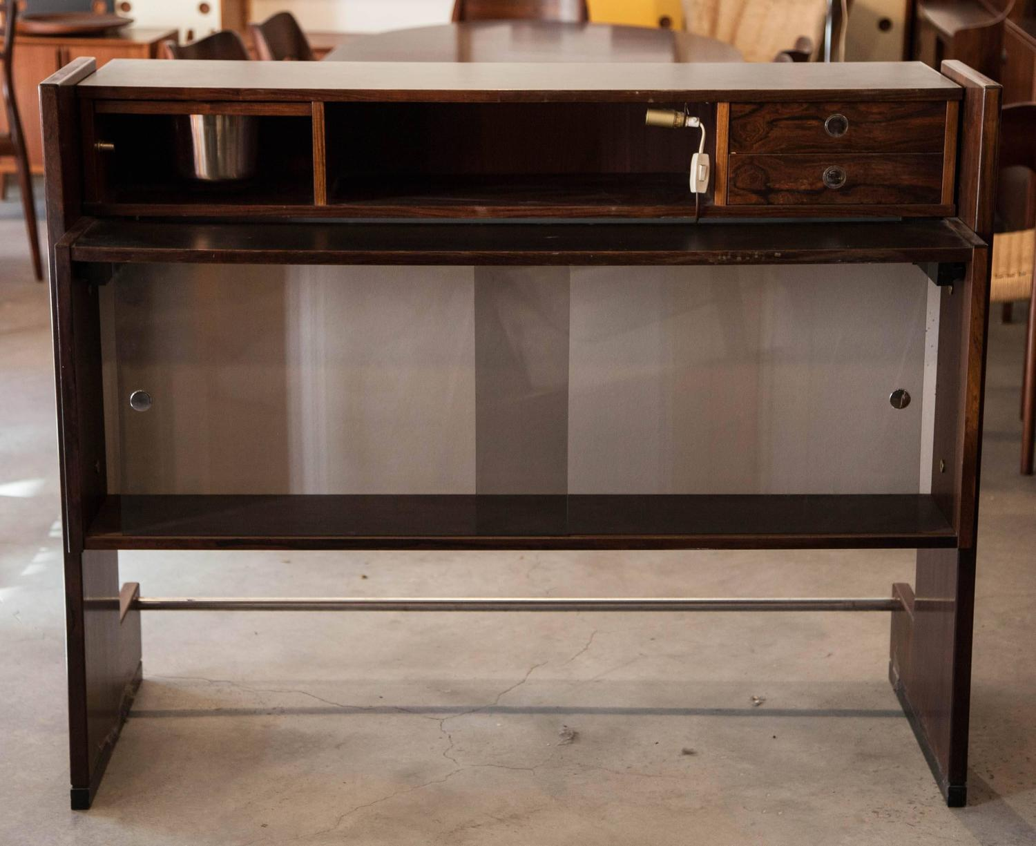 Rosewood Free Standing Home Bar By Dyrlund At 1stdibs