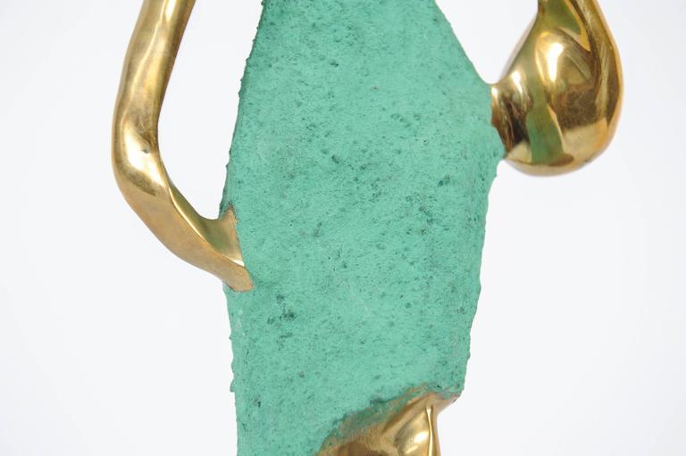 Art Deco Female Figurine in the Style of Werkstätte Hagenauer  For Sale 3