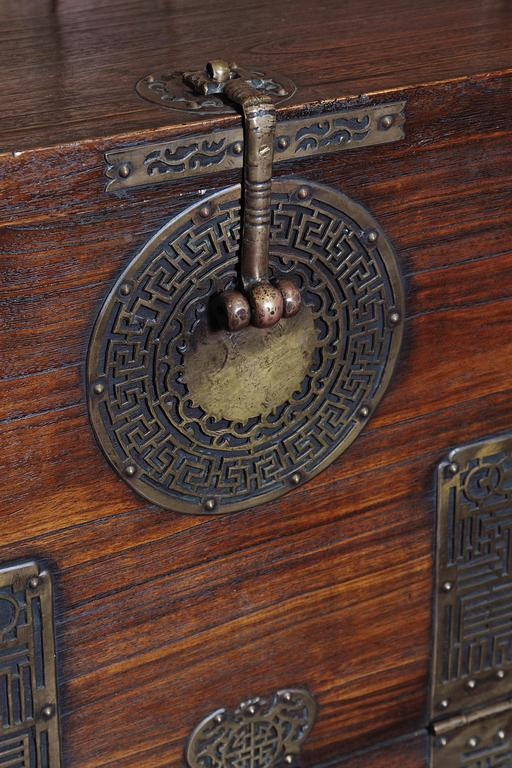 Early 20th Century Korean Chest, Retro-Fitted for Television For Sale 3