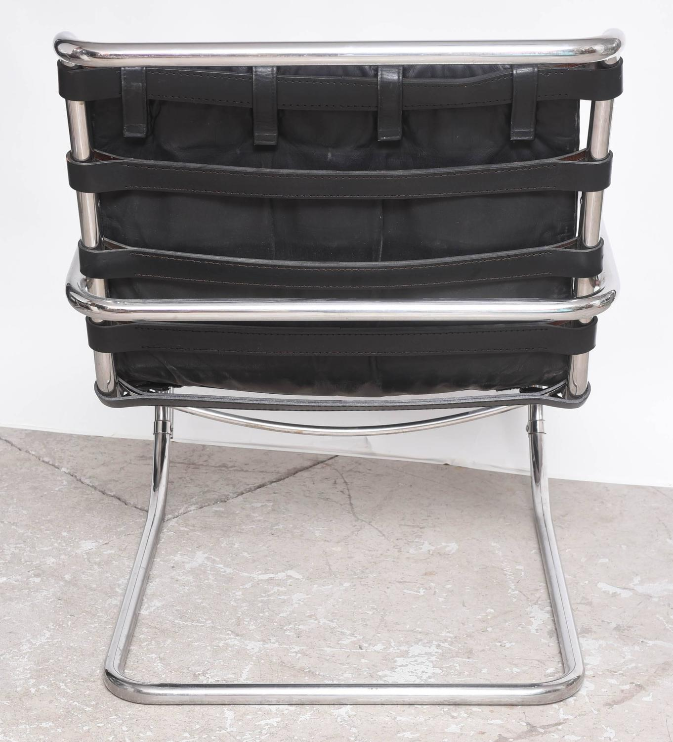 mid century edition bauhaus mies van der rohe mr lounge chairs by