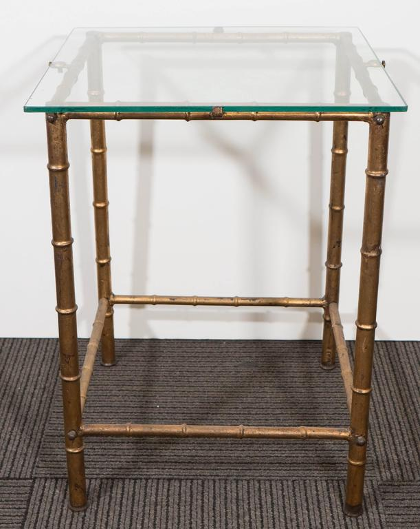 Delicieux A Vintage LaBarge Side Table In The Chinoiserie Style, Produced Circa  1970s, With Glass