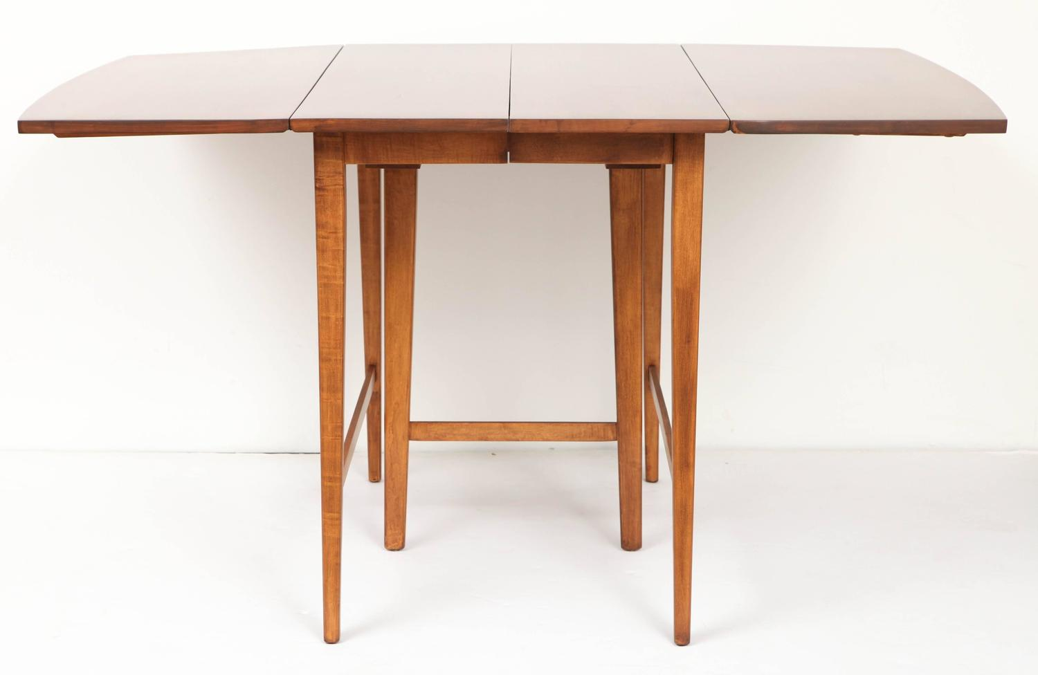 Paul mccobb planner group drop leaf extension table for for Drop leaf extension table