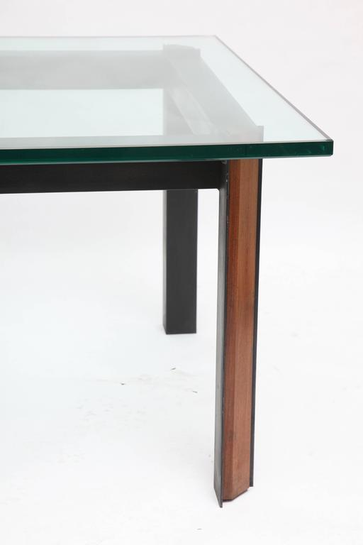 Meiji  Side Tables Mid Century Modern Patinated Iron, Wood 1950's For Sale