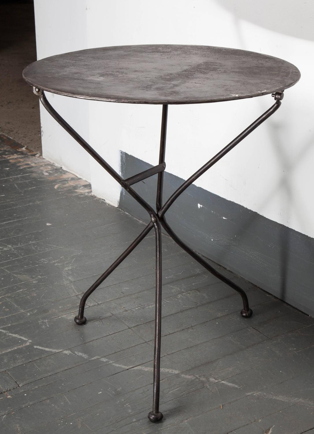 French Metal Folding Table at 1stdibs