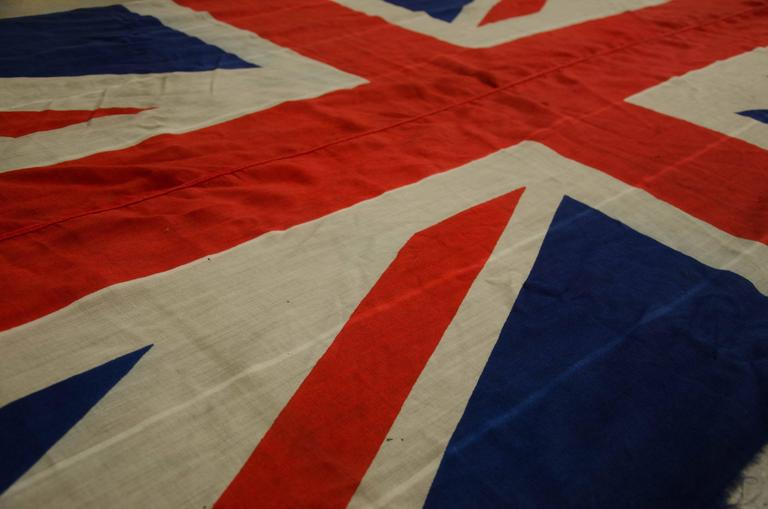 Early 19th Century About 1840s Union Jack Flag British
