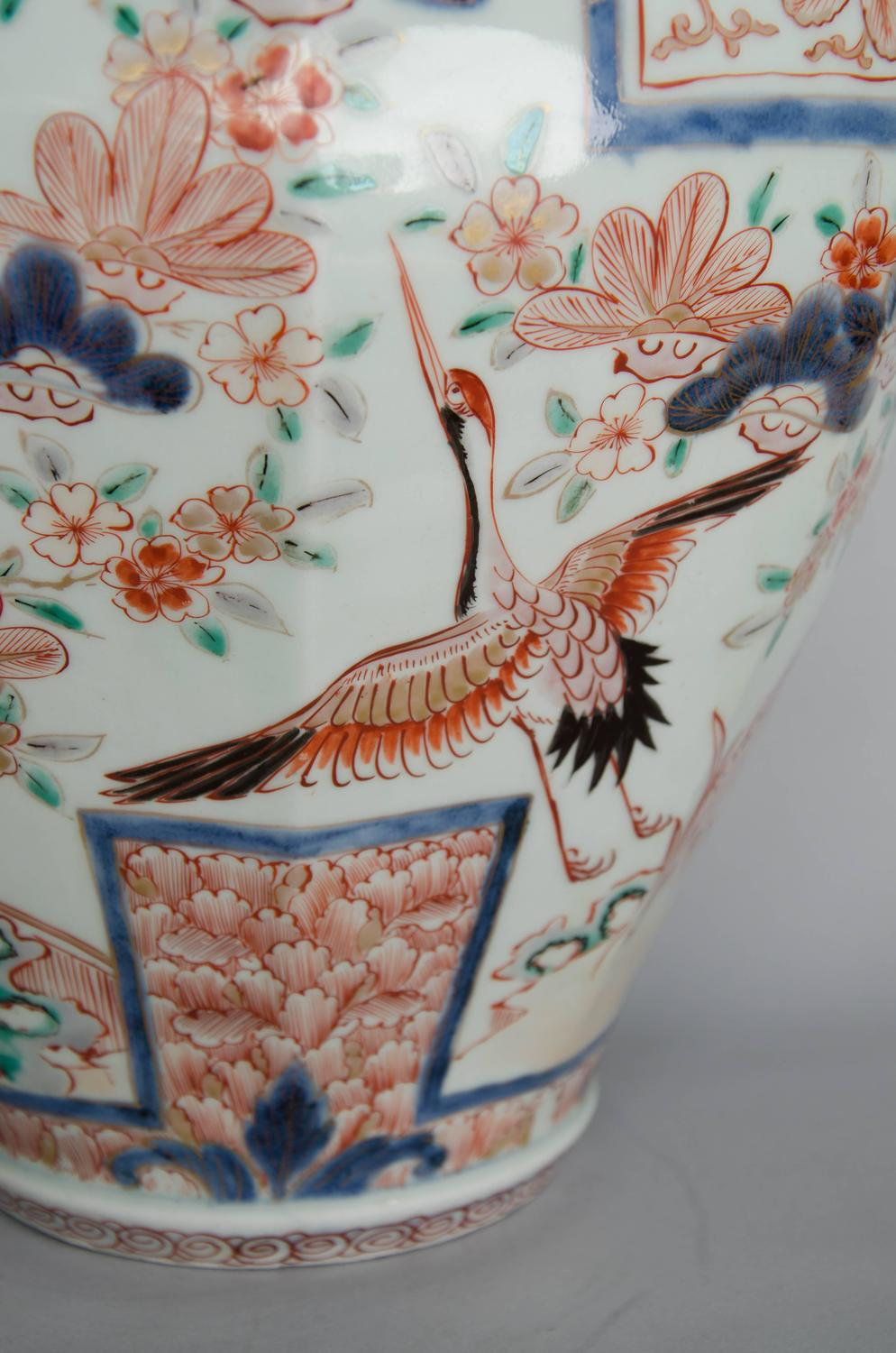 Japanese Imari Lidded Vase Circa 1700 At 1stdibs