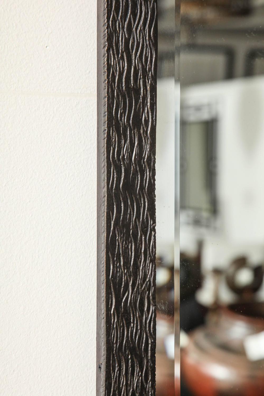Mid Century Iron Patio Chairs: Mid-Century Iron Rectangular Mirror For Sale At 1stdibs