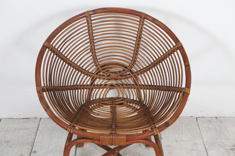 Round bamboo chairs manca info