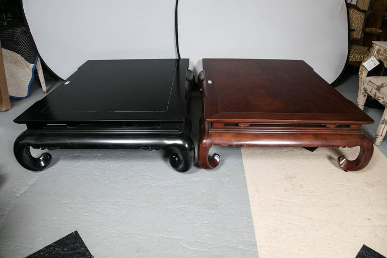 Delicieux Ralph Lauren Beekman Coffee Table. Bel Air Black With Curved Legs Add A  Baroque Aesthetic