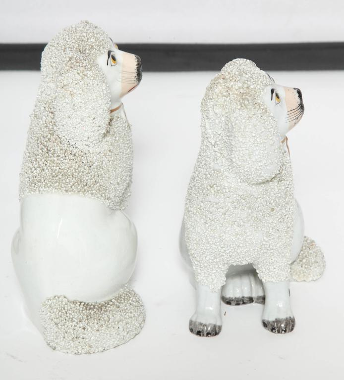 English Pair of Staffordshire Dogs For Sale