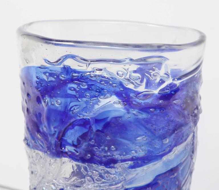Murano Glass Vase For Sale 1