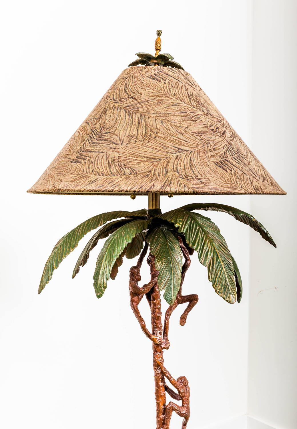 Monkey Floor Lamp By Frederick Cooper At 1stdibs