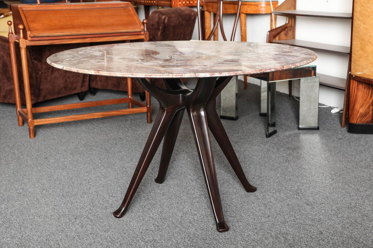 Borsani Dining Table With 2 Large Extension Leaves For