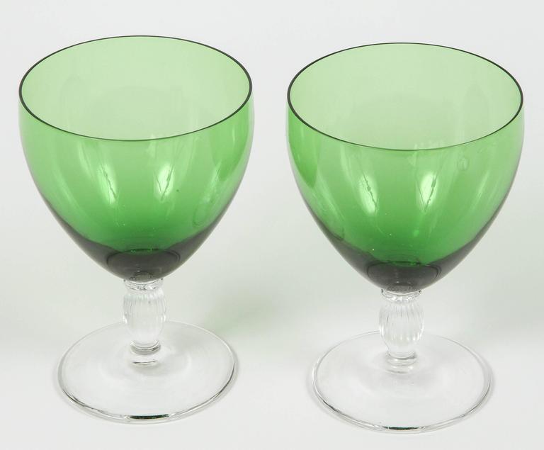 Vintage Green Glasses 58