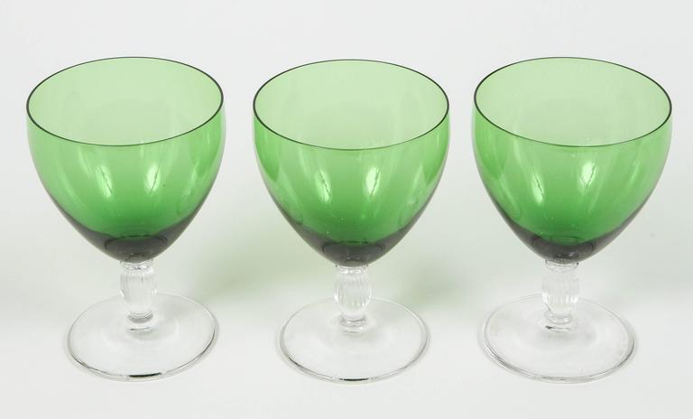 Vintage Green Glasses 28