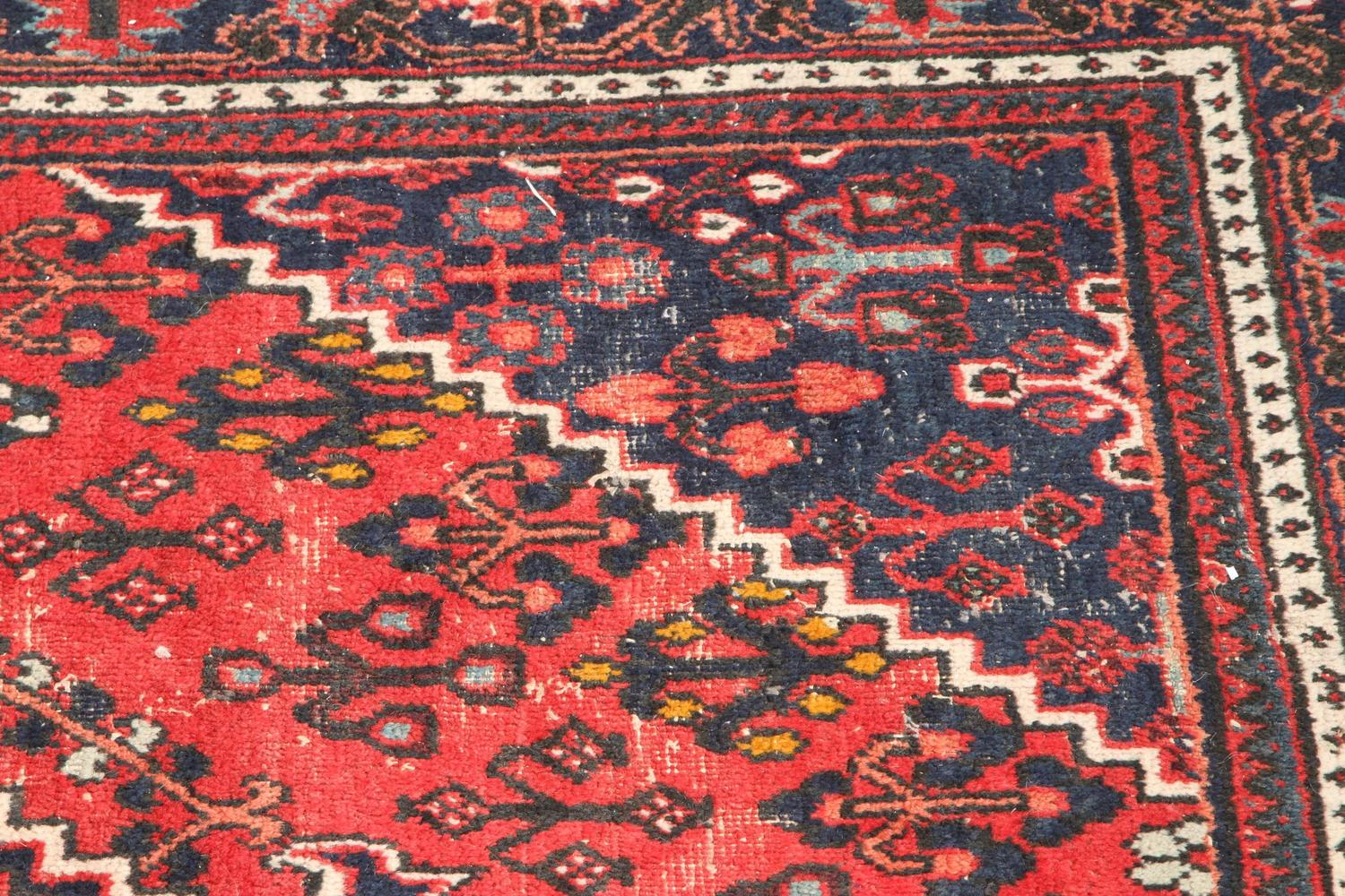 Red And Blue Persian Rug For Sale At 1stdibs