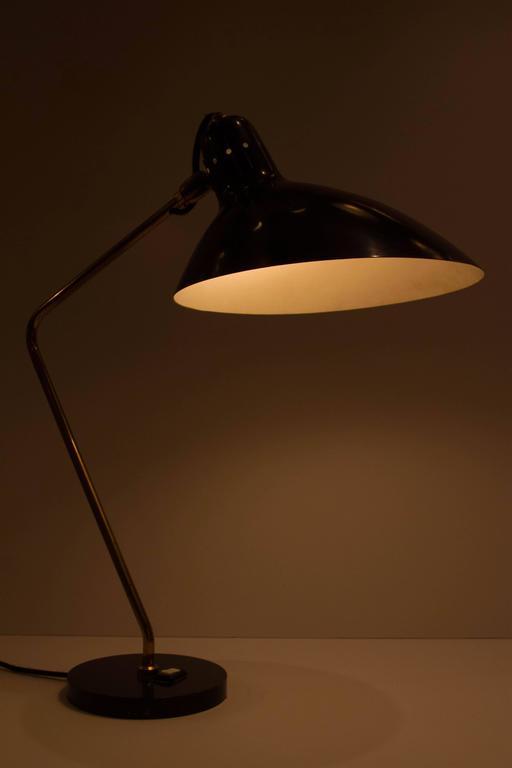 Lacquered Jean Boris Lacroix Table Lamp For Sale