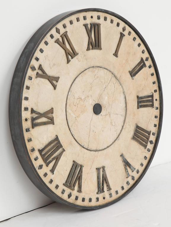 Marble Clock Face  4