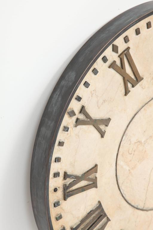 Marble Clock Face  5
