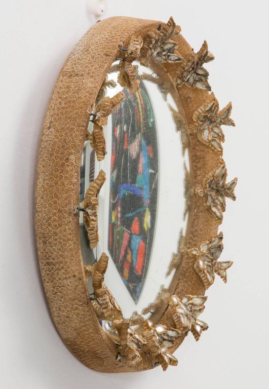 Line vautrin skylark mirror at 1stdibs for Miroir aux alouettes