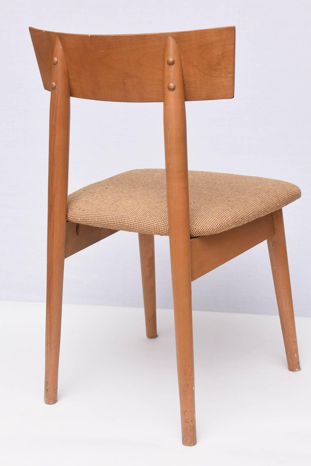 Heywood Wakefield Desk Chair 1960s USA For Sale at 1stdibs