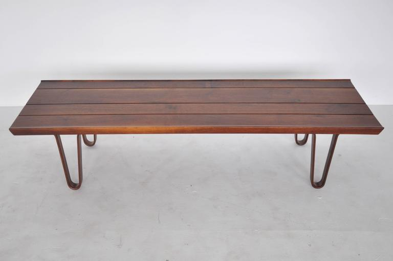 Dunbar long john bench or coffee table at 1stdibs for Coffee table 48 x 30
