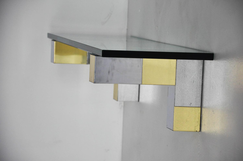 paul evans cityscape wall shelves for sale at 1stdibs. Black Bedroom Furniture Sets. Home Design Ideas
