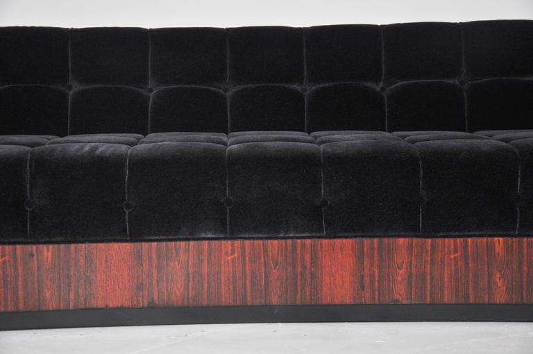 Milo Baughman Rosewood Case Sofa 3
