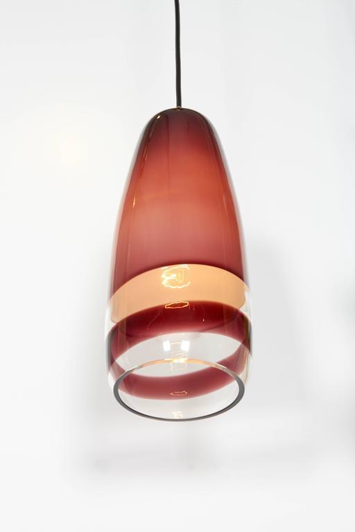 Italian Massimo Vignelli Venini Pendant, 1950s For Sale
