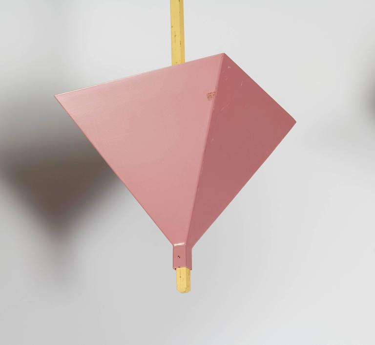 Swiss Cubist Pendant Lighting From Zurich, Switzerland For