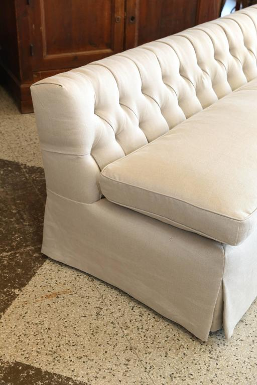 Pair Of Vintage Low Armless Sofa At 1stdibs