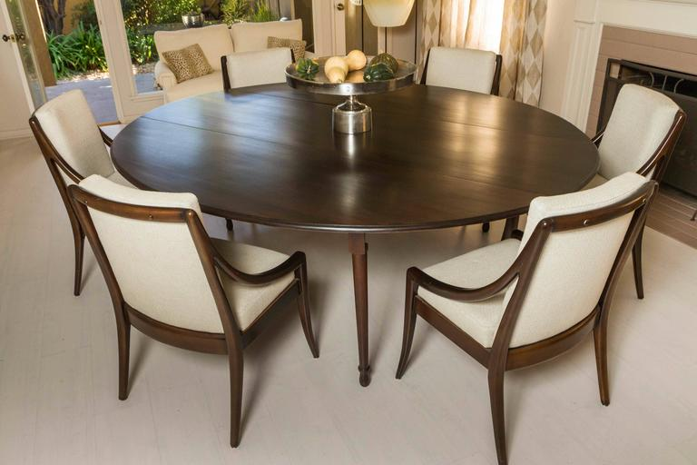 Double Drop-Leaf Dining Table At 1stdibs